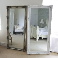 Choose a stunning Large Mirror from Decorative Mirrors Online. Our quality range of Extra Large Mirrors will make your home and living room unique. Mirror Table, Decor, Mirror Decor, Extra Large Mirrors, Dressing Table Mirror, Shabby Chic, White Dressing Tables, Shabby Chic Mirror, Dressing Mirror
