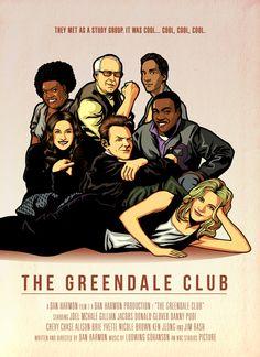 """""""The Greendale Club"""" by Ninjaink. #Community"""