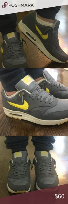 Nike Air Max mens shoes Nike air max mens, Air max and Leather shoes