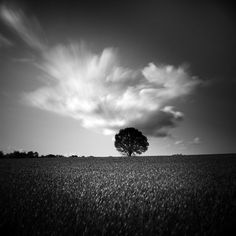 Minimalist landscape photography by Demaret Didier