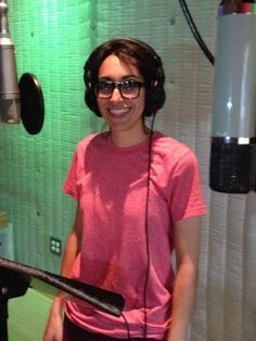 'The Voice's' Michelle Chamuel hits the recording studio, Los Angeles, June 7, 2013