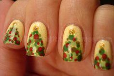 Christmas Manicure Trees