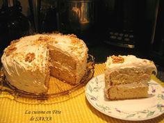 Je n'ai pas le mot juste pour vous dire à quel point ce gâteau est délicieux, il faut l'essayer!!! Gâteau suprême délice à l'ér... Easy Desserts, Dessert Recipes, Bon Dessert, Retro Recipes, Beignets, Nutella, Cupcake Cakes, Sweet Treats, Deserts
