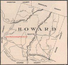 Warren County Missouri Map 1904 Warrenton Wright City