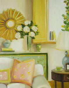Sunburst Mirror  --  Janet Hill