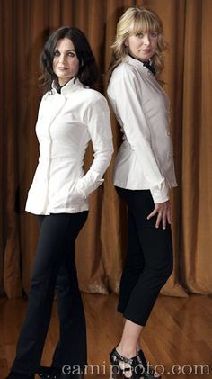 OK Chefs and Cooks..its your time to flaunt your Whites....and no one cuts a better White Jacket for Chefs then Sandra Harvey Designs. Available for men and women and made in the US.