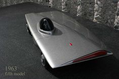 Geza Loczi's Assymetrical Car model, made for the Fisher Body Craftsman competition.