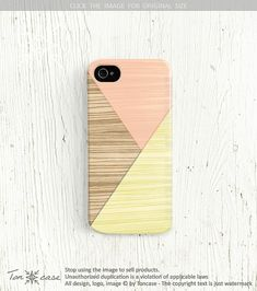 Wood print iPhone 5 case Wood iPhone 4 case Geometric  by TonCase, $19.99
