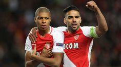 Mbappe & Falcao AS Monaco