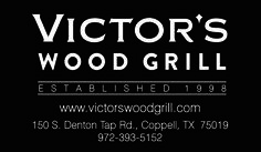 Victor's Wood Grill Business Card created by Marni G Designs #MarniGDesigns #BusinessCard #BC #VictorsWoodGrill