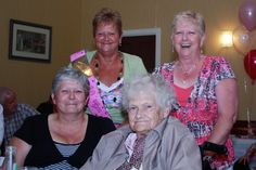 my mother, aunt June, aunt Frances (Franny) and my gran,  I took this at my Aunt June's 60th Birthday party a couple of years ago!!