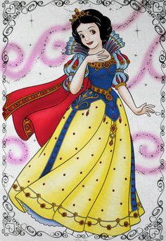 Apple Princess Snow White