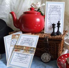 Alice in Wonderland invites