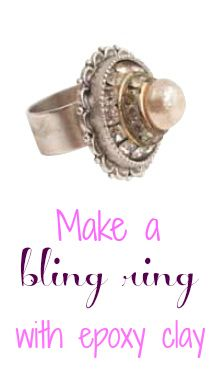 Goddess Fully Adjustable Quartz Handmade Clay Jewelry Crystal and Gemstone Jewelry Floral Flower Ring Clay /& Gemstone Ring