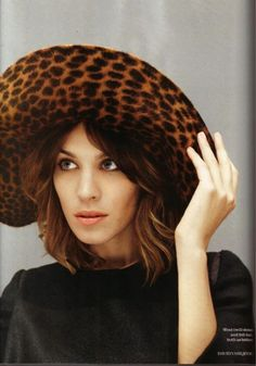 af8b0507c3f Alexa Chung Photographed by David Vasiljevic for Elle UK November 2010