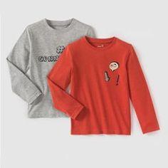 691e3623444e6 T-shirt manches longues 3-12 ans (lot de 2) R Edition