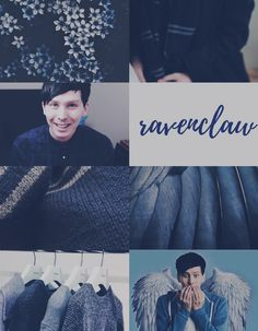 Phil Lester Ravenclaw House Aesthetic Board ✘Edit is mine