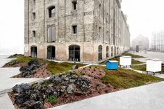 Paisaje nórdico para Noma por Polyform. Fotografía © Wichmann + Bendtsen. Señala encima para ver la imagen más grande.