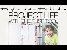 Project Life Scrapbooking Process Video Using The Fuse Tool - YouTube
