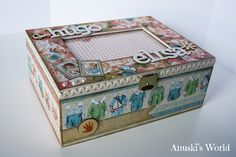 Caja de recuerdos de bebé para mis mellizos - Anuski´s World