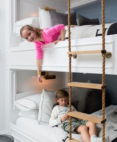 Cutest bunk beds ever.