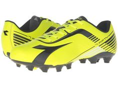 Diadora - 7Fifty MG 14 (Yellow Fluo DD/Black) Men's Soccer Shoes