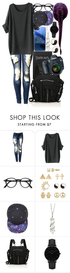 """Untitled #20"" by erin-steel on Polyvore featuring Mudd, Sharon Khazzam, Alexander Wang and CLUSE"