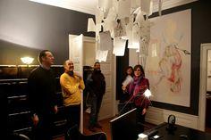#Ausstellungseröffnung von BOYS AND GIRLS, organisiert von Galerie Hammelehle & Ahrens und Vickermann & Stoya. Mit Werken von: Tine Furler, Johannes Hüppi, Ulrich Lamsfuß, Matthias Schaufler, Daniela Wolfer.  #Baden-Baden #Vernissage 23. Januar 2016