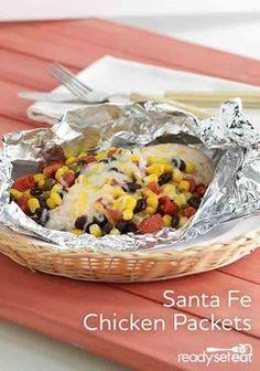 Santa Fe Chicken Packets