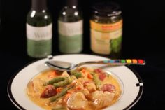 Chicken and Vegetable Stew with Pinnacle Whipped Vodka