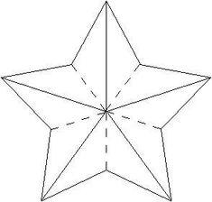 3D star pattern: