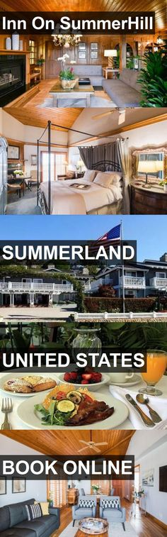 Hotel Inn On SummerHill in Summerland, United States. For more information, photos, reviews and best prices please follow the link. #UnitedStates #Summerland #travel #vacation #hotel
