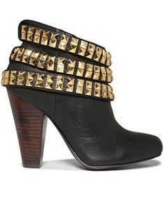 Betsey Johnson Concert Studded Booties