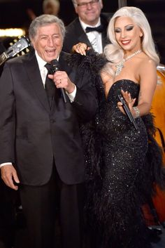 Tony Bennett and Lady Gaga Are the Cutest Grammy Performers