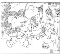 Mary Engelbreit Coloring Page