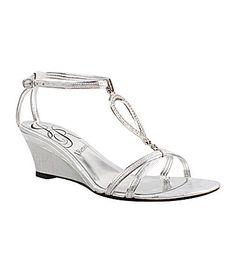 J Renee Whirly Wedge Sandals #Dillards