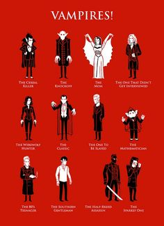 Vampires! - My favs: the mathematician or the 80's teenager