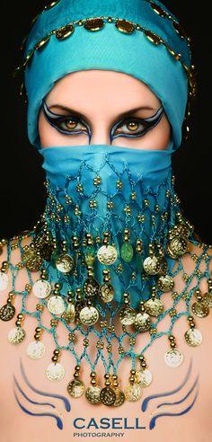 make up & veil