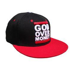 God Over Money Snap Back Hat (Black)