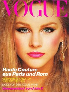 Michelle Stevens  -  Vogue Germany  March 1980