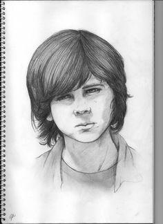 Carl Grimes - The Walking Dead by ladynoob.deviantart.com on @deviantART