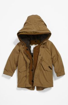 This is cute, but very unlikely to spend this much on ONE coat for a growing baby. Burberry 'Chaundler' Coat (Baby Boys) available at #Nordstrom