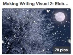 Making Writing Visual: Elaborative Details. I love Sharon's Empowering Writers boards. Great images and strategies to get kids writing. Winter Pictures, Cool Pictures, Empowering Writers, I Love Winter, Cozy Winter, Winter Night, Mystic Moon, Snow And Ice, Christmas Photos