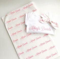 f19f20a55 7 Best Personalised organic cotton swaddle blanket images