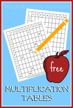 My grader needs some extra practice with his multiplication tables, so his teacher suggested that he complete a table daily. Of course, I had to make some multiplication printables for him. He also enjoys playing on this fun device. I have him complet Multiplication Tables, Multiplication Activities, Math Activities, Maths, Kindergarten Worksheets, Worksheets For Kids, Diy Montessori, Printable Board Games, Homeschool Curriculum