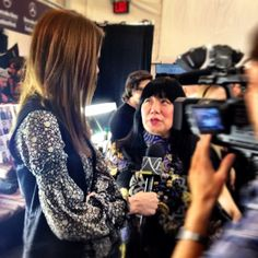 With one of my favorite designers of all time, #AnnaSui! #NYFW