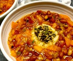 Smoky Winter Stew with Black-Eyed Peas, Red Beans, and Sweet Potatoes Canned Black Beans, Red Beans, Black Bean Tacos, Vegan Soups, Vegan Recipes, Vegan Kitchen, Collard Greens, Dinner Is Served, Roasted Cauliflower