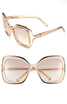 Chloé 56mm Sunglasses available at #Nordstrom
