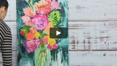 """This is """"finger paint"""" by Alisa Burke on Vimeo, the home for high quality videos and the people who love them."""