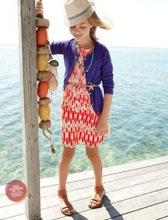 If all else fails, check out a Crewcuts catalog...  their girl clothing is especially fantastic!  I also love Zara - also so great for girls and boys.
